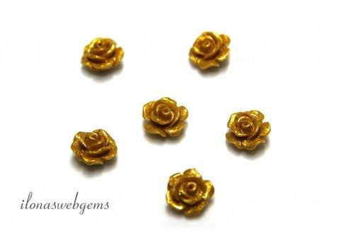 Coral Rose ca. 10mm - Copy