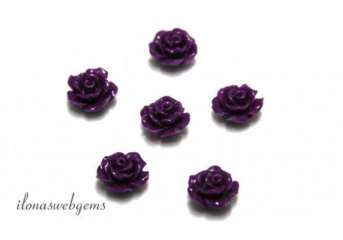 Coral Rose ca. 10mm