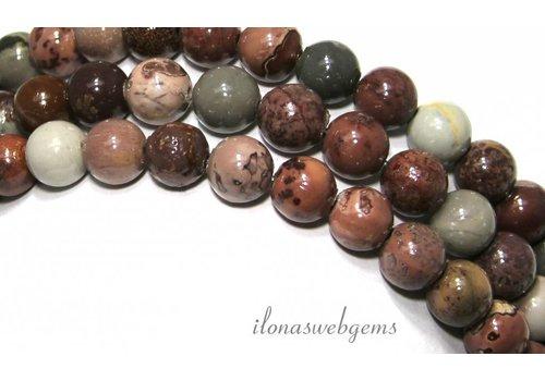 Arctic Jasper beads about 8mm