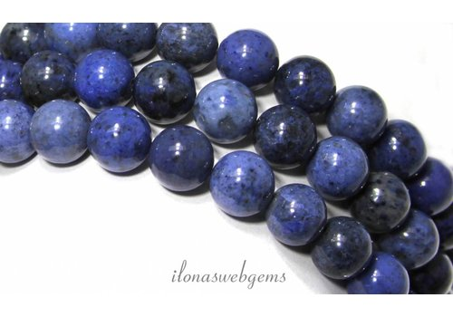 Dumortierite Perlen ca. 10mm