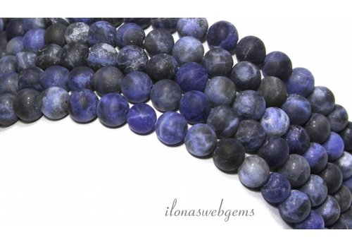 Sodalite beads mat around 6mm