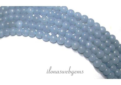 Angeliet - Angelstone Angelite Perlen (Angel Stone) ca. 4,3 mm AA Qualität