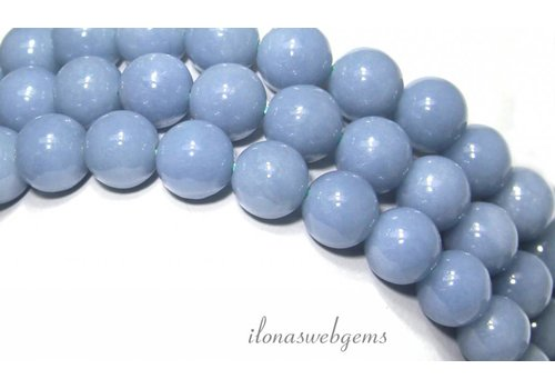 Angelite beads approx 10mm