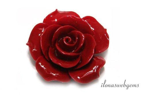 Koraal roos groot (kraal)