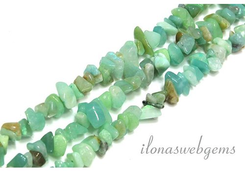 Amazonite beads split 5mm