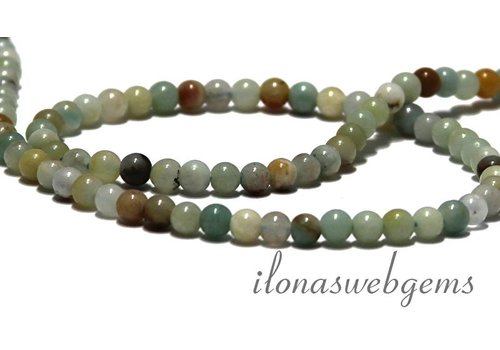 Amazonite beads app. 4mm