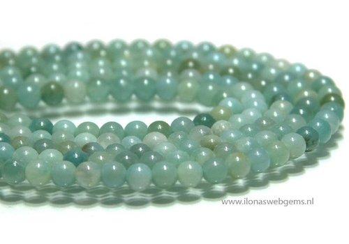 Amazonit Perlen etwa 4,5 mm