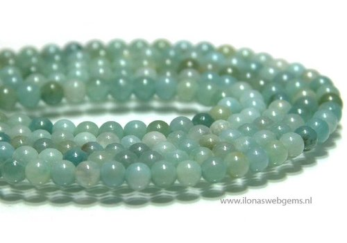 Amazonite beads about 4.5mm