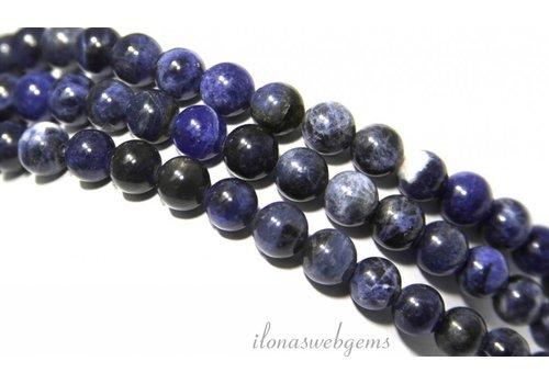 Sodalith Perlen etwa 8mm