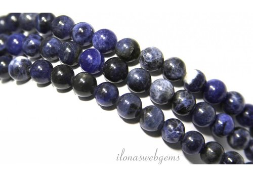 Sodalite beads about 6mm