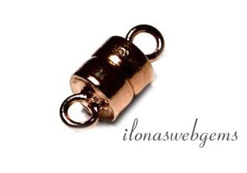 Rosé Gold filled magnetic clasp