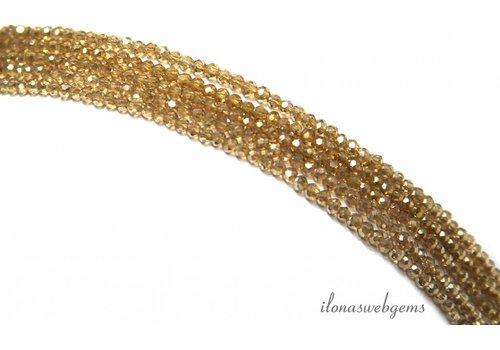 Swarovski Kristall-Perlen Stil etwa 2.5x1.5mm