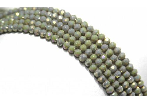Swarovski crystal beads style approximately 4.5x3.5mm