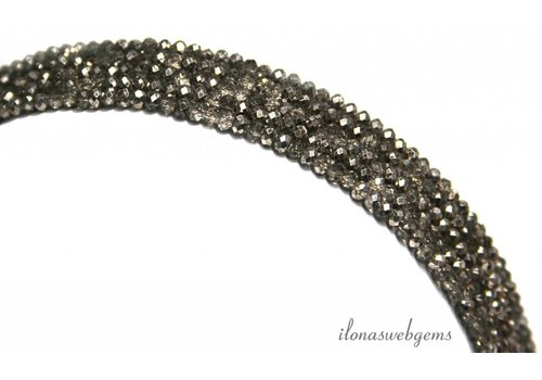 Swarovski style crystal beads about 3x2mm