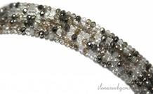 Swarovski Kristall-Perlen Stil etwa 3.5x2.5mm
