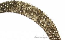 Swarovski Stil Kristall-Perlen über 4x3mm