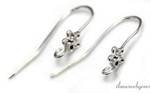 1 Paar Sterling Silber Ohrhaken
