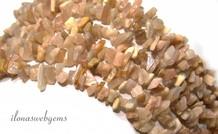 Maansteen Split Perlen fein ca. 5mm