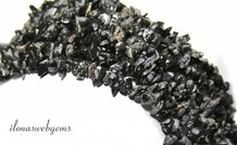 Snow Flake Obsidian Perlen aufgespalten fein ca. 5mm