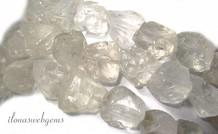 Bergkristal kralen rough ca. 16x12mm
