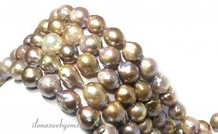Baroque / Baroque pearls about 14-19x14mm