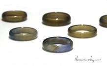 5 Stücke Agate Ring mix