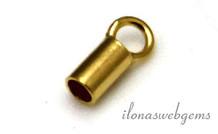 Vermeil Endkappe 1.5mm