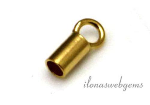 Vermeil Endkappe 2mm