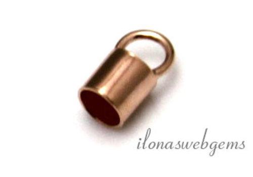 Rosé Vermeil Endkappe 2.8mm