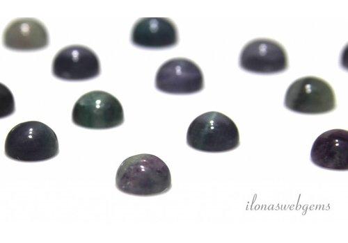 Fluoriet cabochon 10mm
