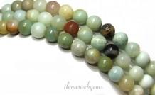 Amazonit Perlen etwa 6,5 mm
