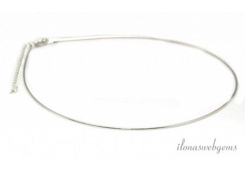 Sterling Silber Halsband Omega