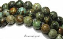 African Turquoise Perlen ca. 10mm