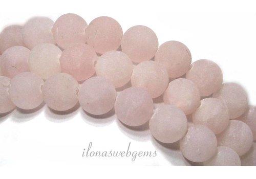Rose quartz beads mat around 10mm