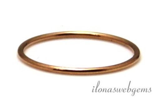 14K/20 Rosé gold filled ring