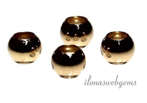 14k / 20 Gold filled bead approx. 8mm