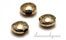 14 Karat Gold Perle 7x4mm ca.