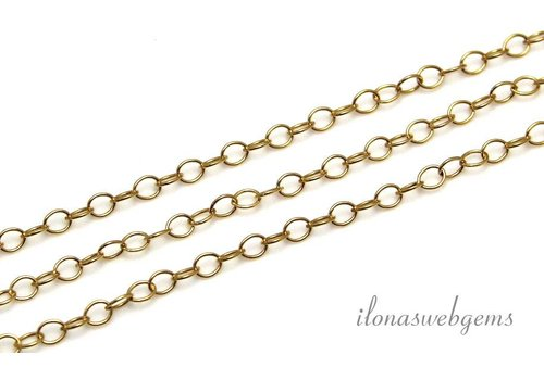 1cm 14k / 20 Gold filled links / necklace
