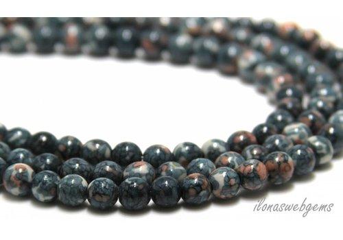 Jasper beads around 7mm