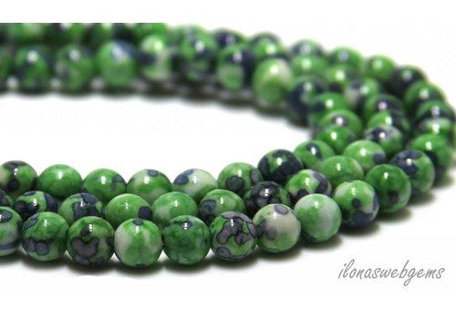 Jasper beads around 6.5mm
