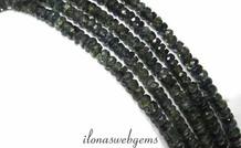 1cm Saphir Perlen Facette Rondelle über eine Qualität 3x2mm
