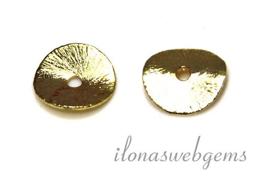 1 piece plated chip 6mm