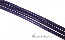 Lederschnur 1,3 mm violett