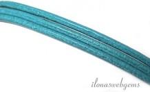 Turquoise Lederband 2mm