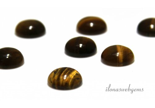 Tigerauge cabochon 14mm