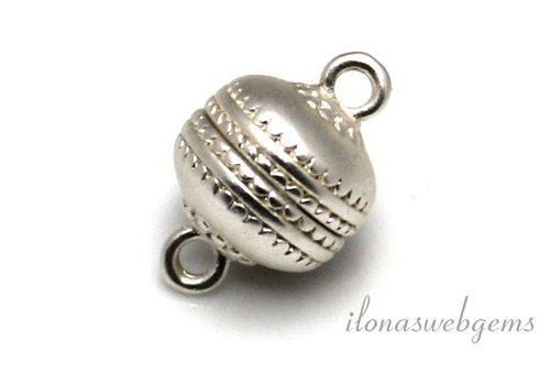Versilberten Magnetverschluss Matte etwa 12 mm