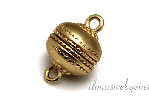 Vergoldet (Rose) Magnetverschluss Matte ca. 12mm