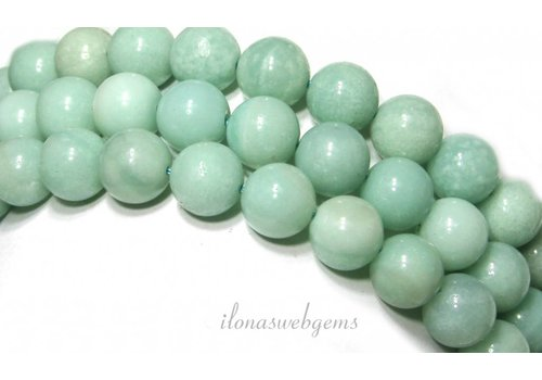 Amazonite beads around 10mm