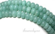 Amazonit Perlen Rondelle über 8.5x5mm