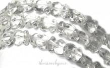 Bergkristall look glas Perlen